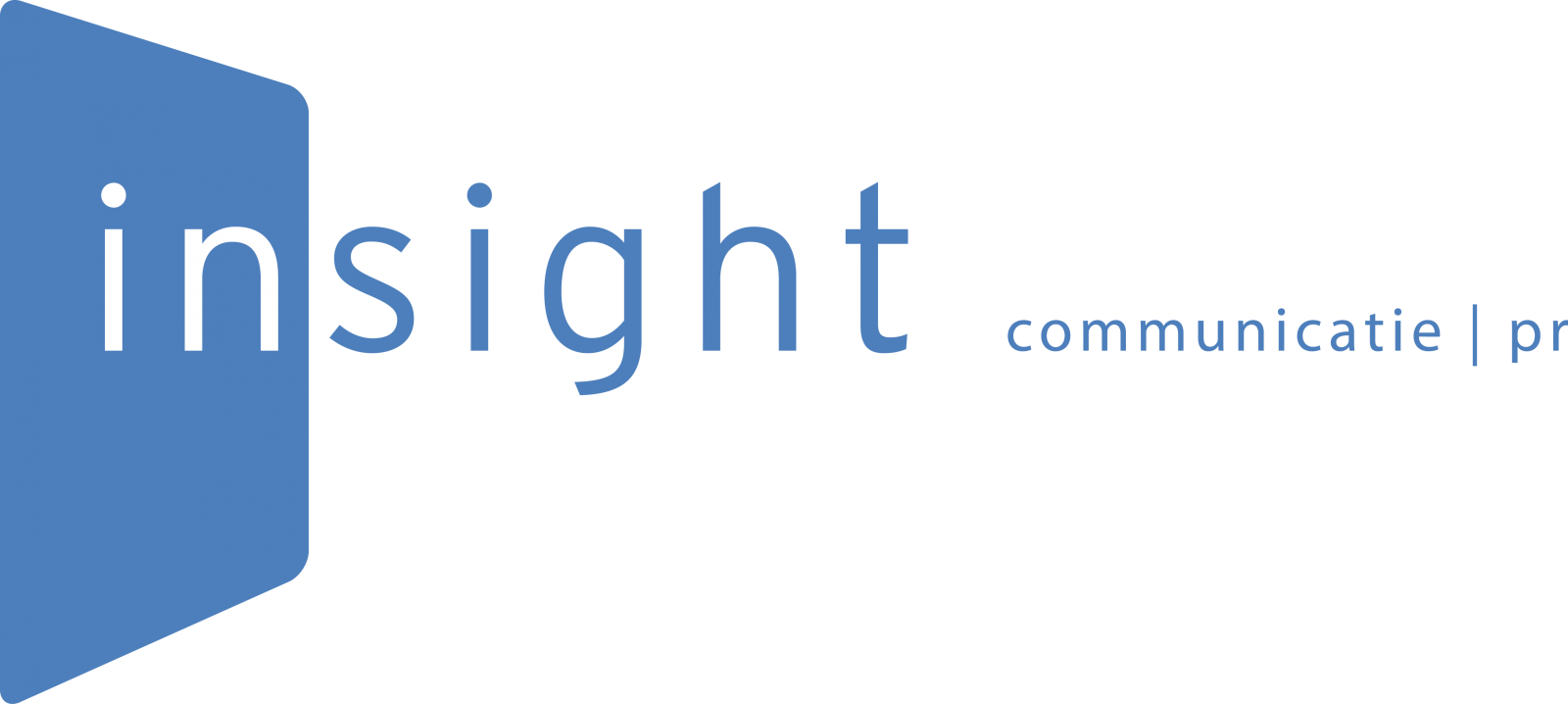 website van insight communicatie | pr, communicatiebureau in Eindhoven